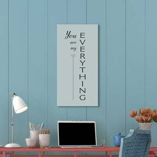 Portfolio Canvas Decor IHD Studio 'My Everything' Stretched and Wrapped Canvas Ready-to-hang Print Wall Art