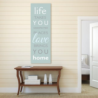 Portfolio Canvas Decor 'Life Takes You II' Stretched and Wrapped Canvas Print Wall Art