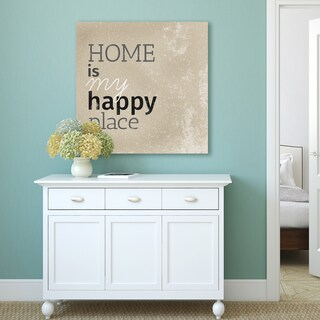 Portfolio Canvas Decor IHD Studio 'Happy Place I' Stretched and Wrapped Canvas Print Wall Art