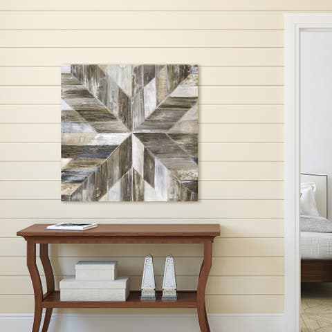 Portfolio Canvas Decor Sandy Doonan 'Gallery Barnwood Taupe' Canvas Wall Art