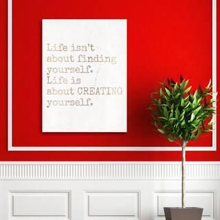 Portfolio Canvas Decor 'Creating Yourself' Canvas Print Wall Art https://ak1.ostkcdn.com/images/products/12915053/P19670027.jpg?impolicy=medium