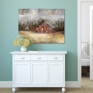 Portfolio Canvas Decor Sandy Doonan 'Barnscape' Multicolored Canvas Rustic Wall Art