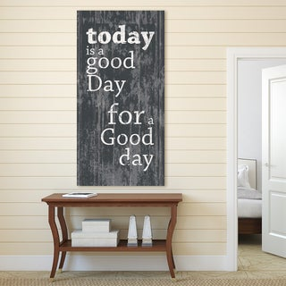 Portfolio Canvas Decor IHD Studio 'A Good Day' Stretched Canvas Ready-to-hang Wall Art