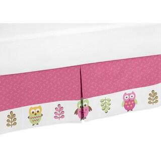 Sweet Jojo Designs Happy Owl Queen-size Bedskirt