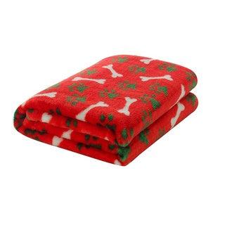 Pets Design Plush 50 x 59-inch Blanket