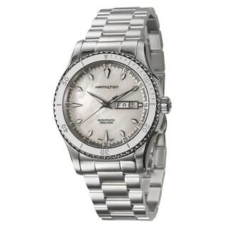 Hamilton Men's Jazzmaster Silvertone Stainless Steel Watch