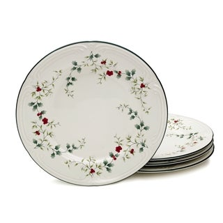 Pfaltzgraff Winterberry Dinner Plates (Set of 4)