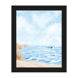 'Waterfront' Framed Canvas Wall Art