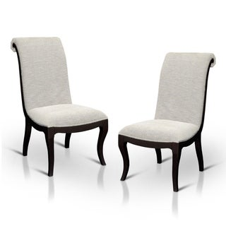 Copper Grove Espresso Dining Chairs (Set of 2)