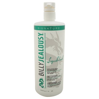 Billy Jealousy LiquidSand Men's 33.8-ounce Exfoliating Facial Cleanser