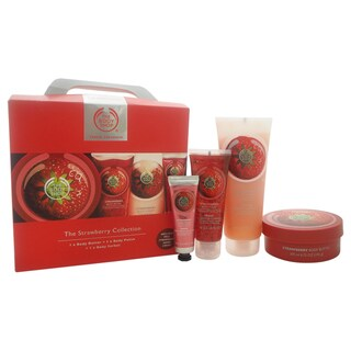 The Body Shop The Strawberry 4-piece Travel Collection
