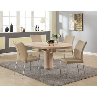 Christopher Knight Home North Beige 5-piece Dining Set