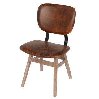 Sloan Dining Chair, Vintage Leather