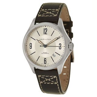 Hamilton Stainless Steel Women's Watch|https://ak1.ostkcdn.com/images/products/12915457/P19670418.jpg?impolicy=medium