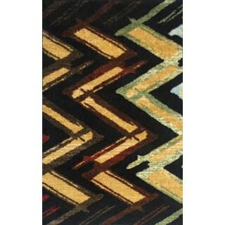 Sola Multicolor Nylon Rug Runner (19' x 33')