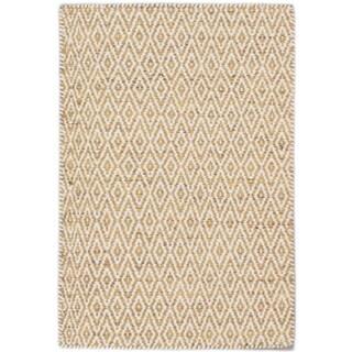 eCarpetGallery Nevada Brown/Blue Wool Handwoven Rug (2'0 x 3'0)