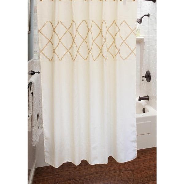 Sherry Kline Lattice Diamond Shower Curtain