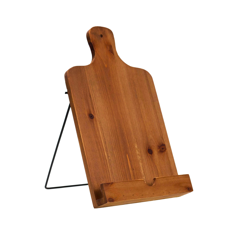 Wood Metal Cutting Board Stand