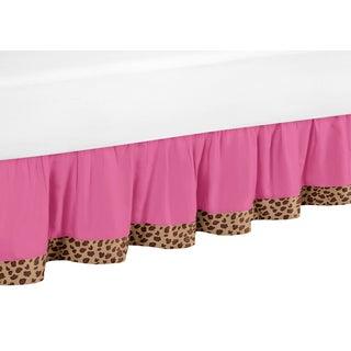 Sweet Jojo Designs Cheetah Girl Queen-size Bedskirt (Option: Queen)