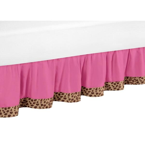 Sweet Jojo Designs Cheetah Girl Queen-size Bedskirt