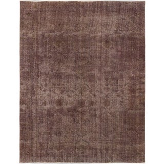 ecarpetgallery Hand-Knotted Color Transition Green Wool Rug (8'6 x 11'0)