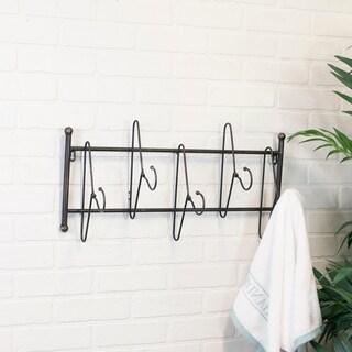 Grey Metal 5-hanger Hook