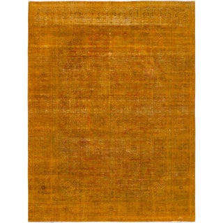 eCarpetGallery Hand-knotted Color Transition Orange Wool Rug (9'5 x 12'5)