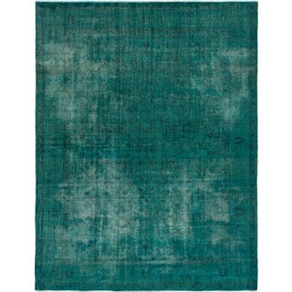 eCarpetGallery Oriental Color Transition Green and Black Wool Hand-knotted Rug (10'2 x 12'11)