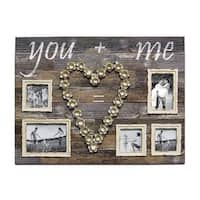 Wood Large 'You and Me' Photo Plaque