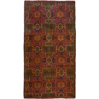 eCarpetGallery Hand-knotted Konya Anatolian Brown Wool Area Rug (4'4 x 8')