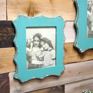 Blue Wood 8-inch x 10-inch Frame