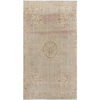 eCarpetGallery Hand-knotted Melis Vintage Grey Wool Rug (5'10x10'8)