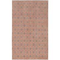eCarpetGallery Hand-knotted Anatolian Sunwash Brown Wool Rug (5'6 x 8'11)