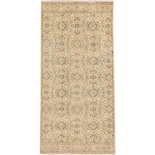 eCarpetGallery Blue/Green Wool Hand-knotted Sunwashed Anatolian Rug (4'7 x 9'3)