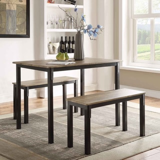 Tool Less Boltzero Dining Table with 2 Dining Benches