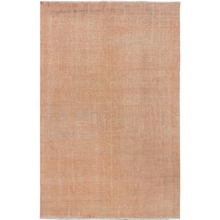 ecarpetgallery Hand-Knotted Color Transition Ivory Wool Rug (5'4 x 8'9)