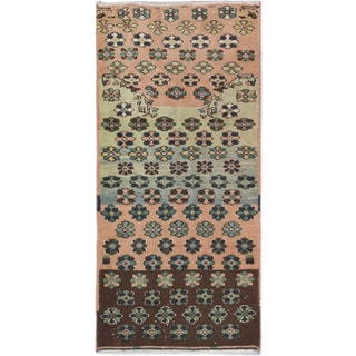 eCarpetGallery Ivory Wool Hand-knotted Anadol Vintage Area Rug (2'11 x 6'3)