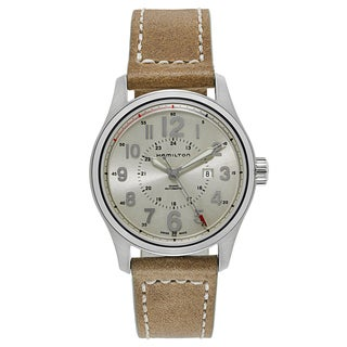 Hamilton Women's Khaki Field Officer Auto Watch
