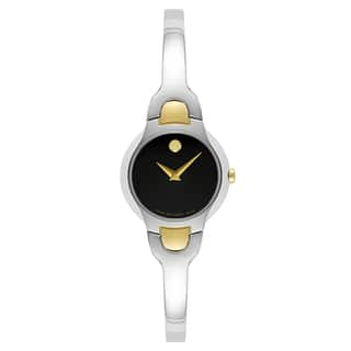 Movado Women's 0606948 Kara Two-tone Stainless Steel Swiss Quartz Watch|https://ak1.ostkcdn.com/images/products/12916365/P19671214.jpg?impolicy=medium