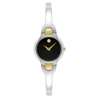 Movado Women's 0606948 Kara Two-tone Stainless Steel Swiss Quartz Watch