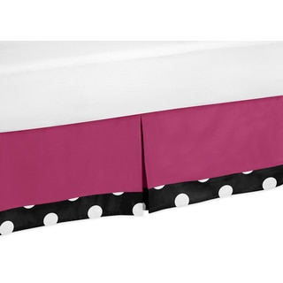 Sweet Jojo Designs Hot Dot Queen-size Bedskirt
