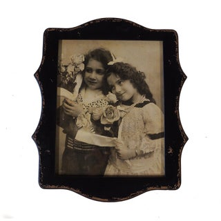Black Wood 11-inch x 14-inch Scalloped Frame