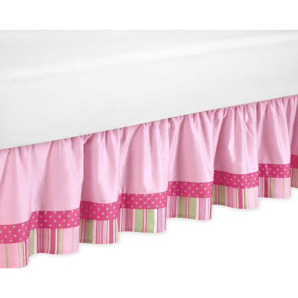 Sweet Jojo Designs Jungle Friends Queen-size Bedskirt