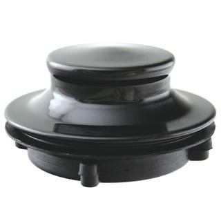 Westbrass Disposal Stopper for 3-Bolt Mount Waste King in Black