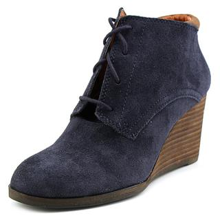 Lucky Brand Women's 'Sumba' Blue Suede Boots