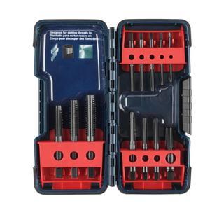 Bosch Black Oxide Tap Set (12-Piece)