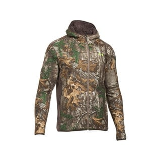Under Armour Men's Realtree Ap Xtra/Velocity 1283119-946 Stealth Fleece Hoodie