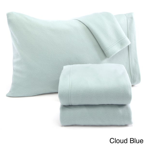 home fashion designs maya collection extra plush polar fleece sheet set in solid colors free shipping on orders over 45 overstockcom 19671446