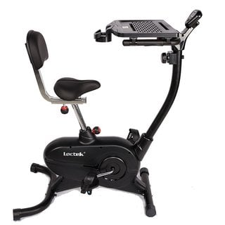 Loctek UF4M Stationary Magnetic Desk Exercise Bike