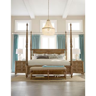 A.R.T. Furniture Pavilion Poster Bed with Posts
